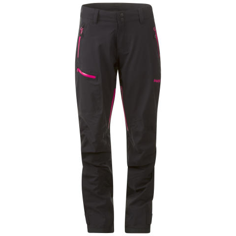Breheimen 3-Layer Lady Pants - Black/Hot Pink