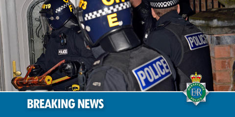 Three men charged following recovery of revolver in Crosby
