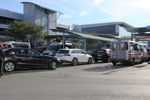 Drosjer ved Bergen lufthavn, Flesland