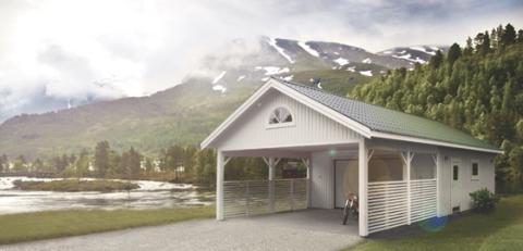 Jubilerande Lövångers Bygg på Nordiska Trädgårdar-mässan
