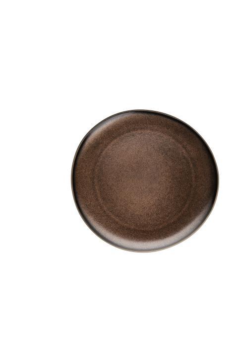 R_Junto_Shiny_bronze_Plate_flat_25_cm