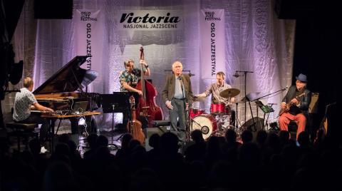 Alf Cranner & Knut Reiersrud Band, Oslo Jazzfestival