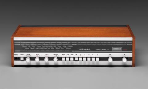 Ekstrem Ekstrøm. Møbel- og industridesign.Sølvsuper 11, Terje Ekstrøm, Tandberg radiofabrikk,1973