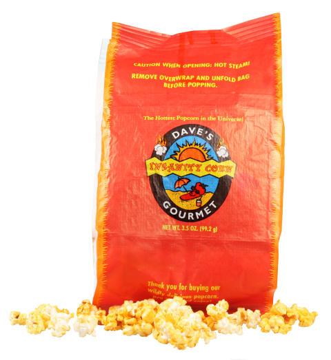 Dave's Insanity Popcorn