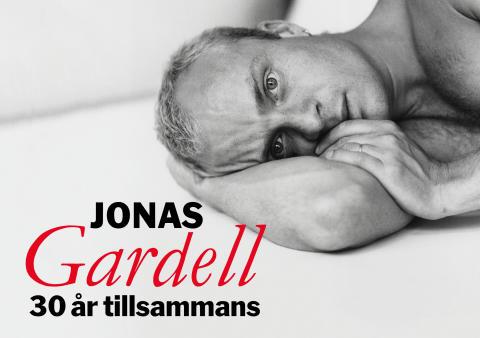 """Nypremiär för Jonas Gardells kritikerrosade show """"30 år tillsammans"""""""