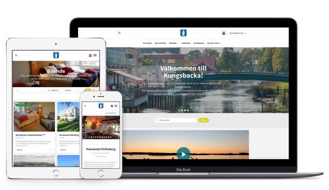 Kungsbacka Turism väljer Basetool Destination Web