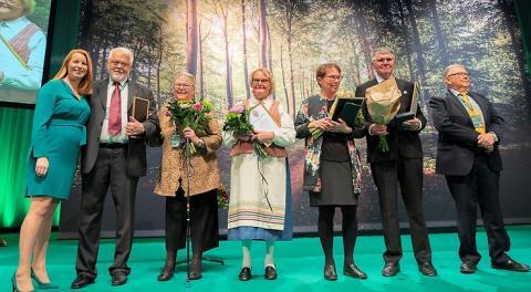 Två skåningar tilldelas Centerpartiets högsta utmärkelse Bramstorpsplaketten