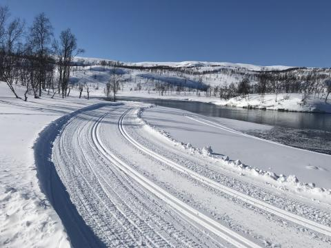 Fine muligheter for en skitur i Sulitjelma
