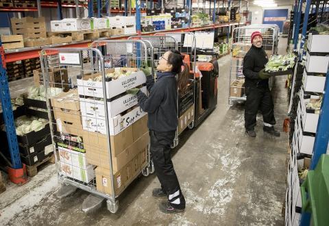 Menigo skapar en av Sveriges största färskvaruhallar i Årsta