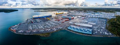 Isuzu Sverige väljer Wallhamn