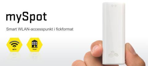 Kanex mySpot - Trådlöst nätverk på resan
