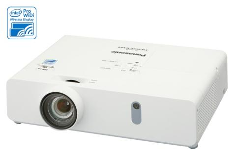 "Panasonic Launches World's First Intel® Pro WiDi Supported Portable LCD projector, ""PT-VW350 Series"""