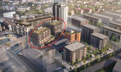 Skanska starter byggingen av nytt trinn på Ensjø Torg