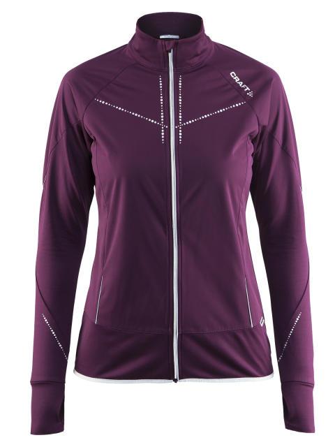 Cover jacket för dam, skyddar mot vinterns yttre element