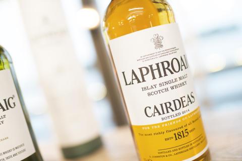 Laphroaig Cairdeas på Laphroaig Live 2014