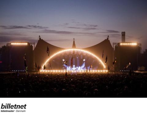 Roskilde Festival og danske Billetnet inngår nytt partnerskap.