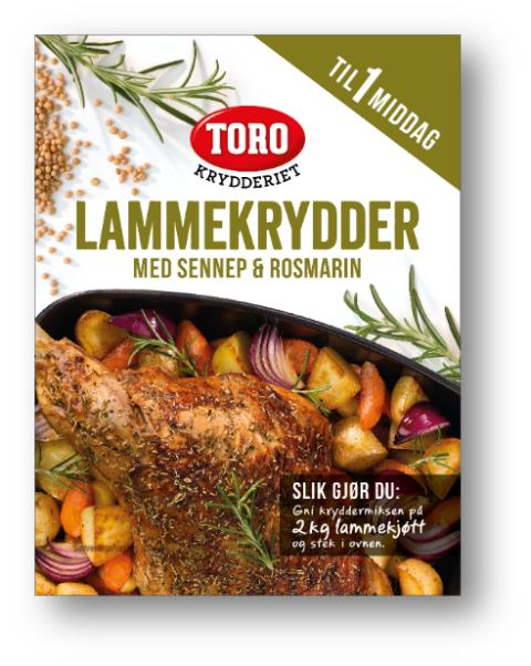 TORO Krydderiet kryddermiks til lam