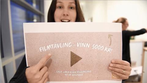 Kortfilmstävling – tema laga, låna eller återanvänd