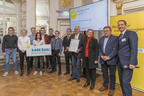 Bürgerenergiepreis Oberpfalz_2019_BERUFLICHE OBERSCHULE REGENSBURG