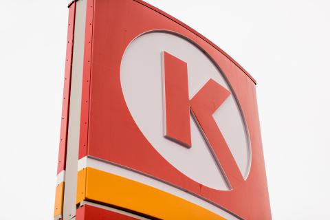 Circle K skylt