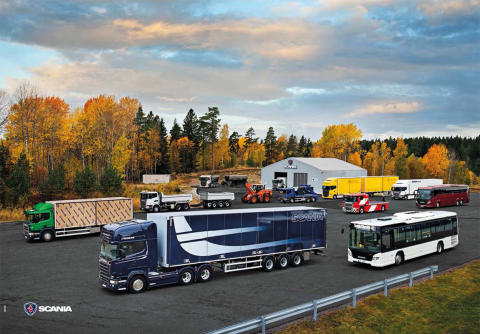 Scania tager markedslederskabet 2015