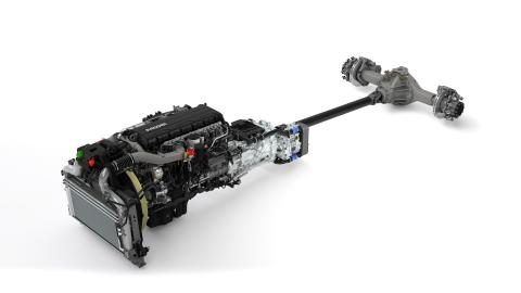 24. PACCAR MX-11 Engine + TraXon Transmission + Rear Axle