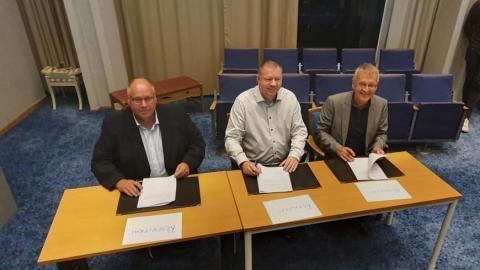 Historisk avsiktsförklaring undertecknas i Ronneby