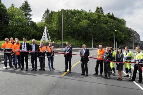 Ny viktig byggekloss på plass i utbyggingen av Bergen lufthavn, Flesland