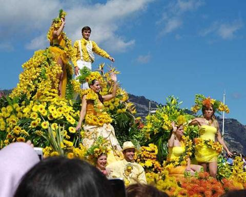 Experience the beauty of the annual 'Funchal Flower Festival' with Fred. Olsen Cruise Lines