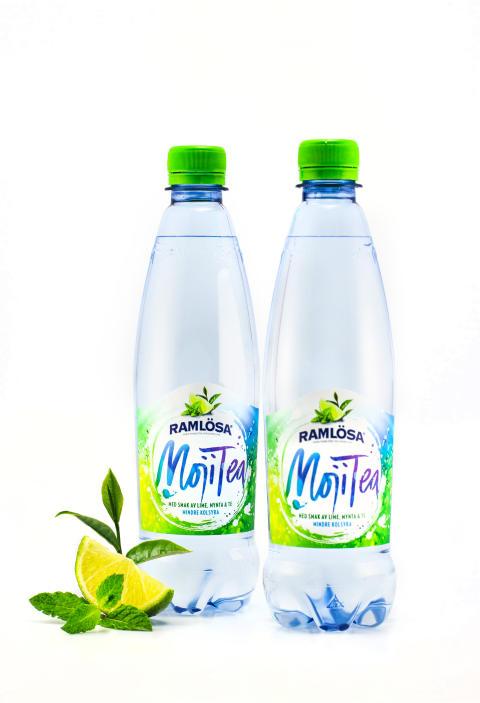 Ramlösa MojiTea två flaskor