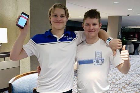 Kasper Björkqvist ja Jesper Mattila