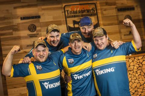 Svenska landslaget satsar på att komma bland de 10 bästa