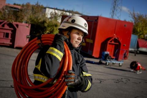 Räddningstjänsten i Norrtälje kommun nominerad till Svenska Jämställdhetspriset