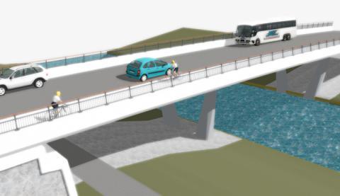 Ny bro på gång över Säveån
