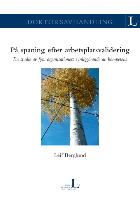 Doktorsavhandling Leif Berglund