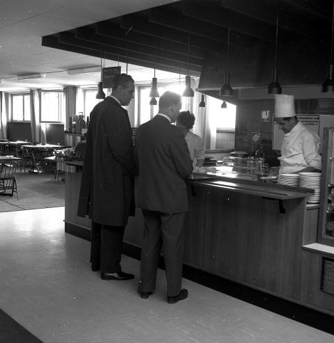 IKEAs första restaurang