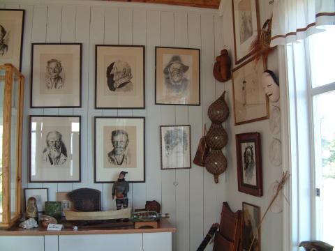 Albert Engströms ateljé Grisslehamn