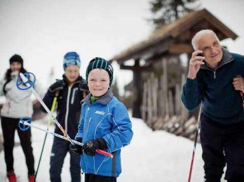 Fartsfylt på vintersportssteder med 4G+ fra Telenor