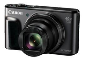 Res med lätt packning – PowerShot SX720 HS, Canons tunnaste kamera med 40x superzoom