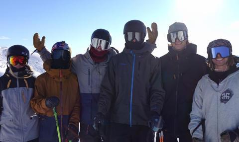 Dags för världscuppremiär i freeskiing slopestyle