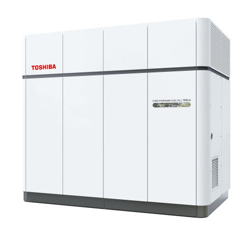 Toshiba Wins Order to Supply 100kW Pure Hydrogen Fuel Cell System Fueled with Hydrogen Produced by Recycling Plastic