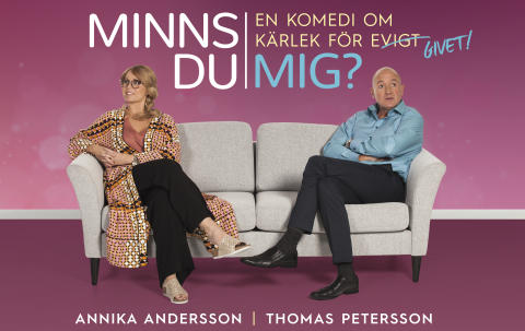 """Komedisuccén """"Minns Du mig?"""" förlängs på Lisebergsteatern! Ytterligare sex föreställningar släpps i januari 2018!"""