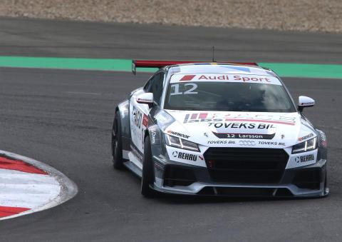 Simon Larsson Audi Sport TT Cup in Nurburgring
