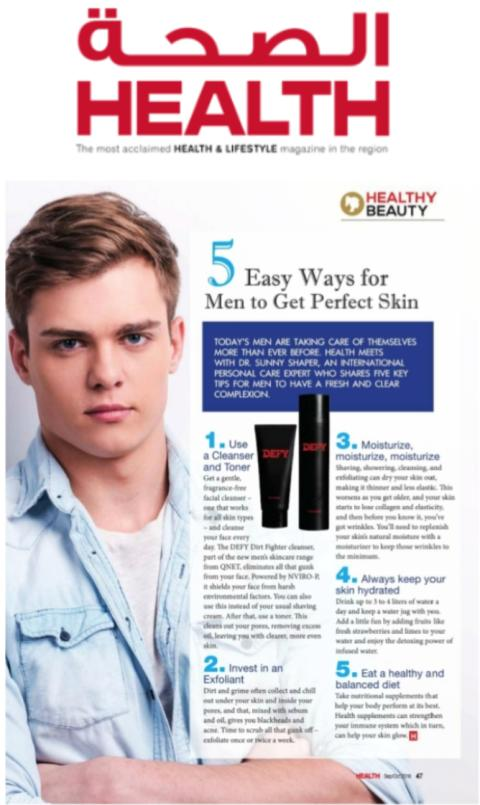 5 Easy ways for men to get perfect skin