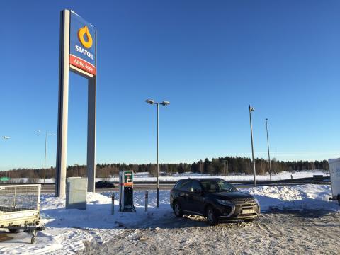 Nya snabbladdare mellan Stockholm och Sundsvall