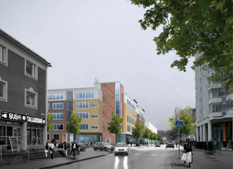 Pressinbjudan: Nu gjuter vi grunden för nya bostadshus i Messingen !