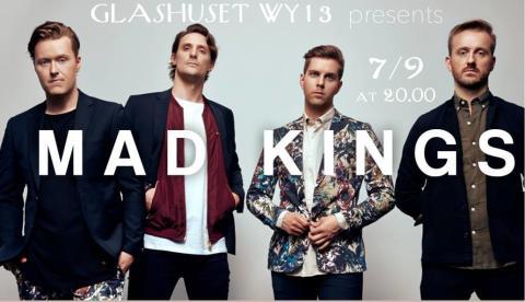 MAD KINGS - live på Glashuset WY13, Fri entré