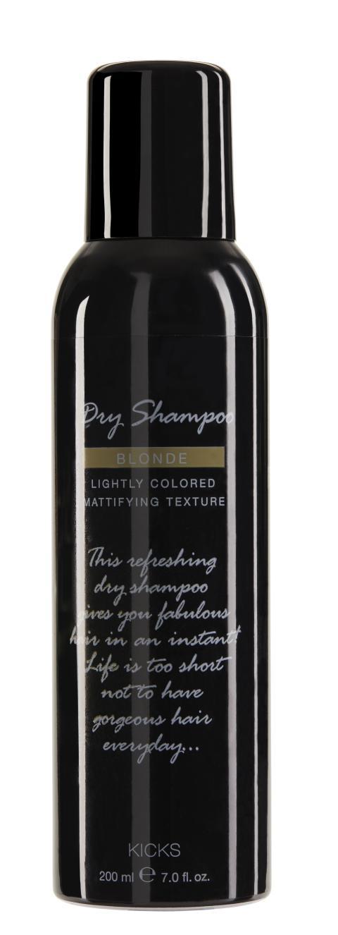 KICKS Dry Shampoo Blonde 200ml