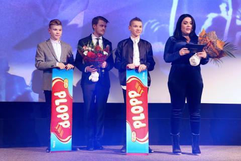 Martinus, Daniel, Marcus & Frida på Rigoletto