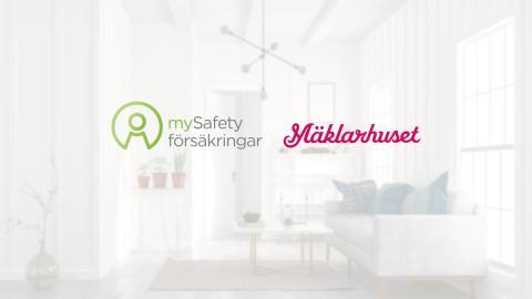 mySafety Försäkringar i samarbete med Mäklarhuset